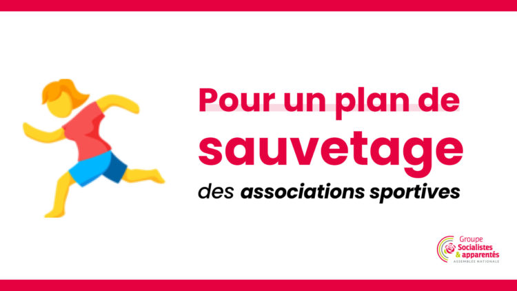 Associations sportives – nous demandons un plan de sauvetage